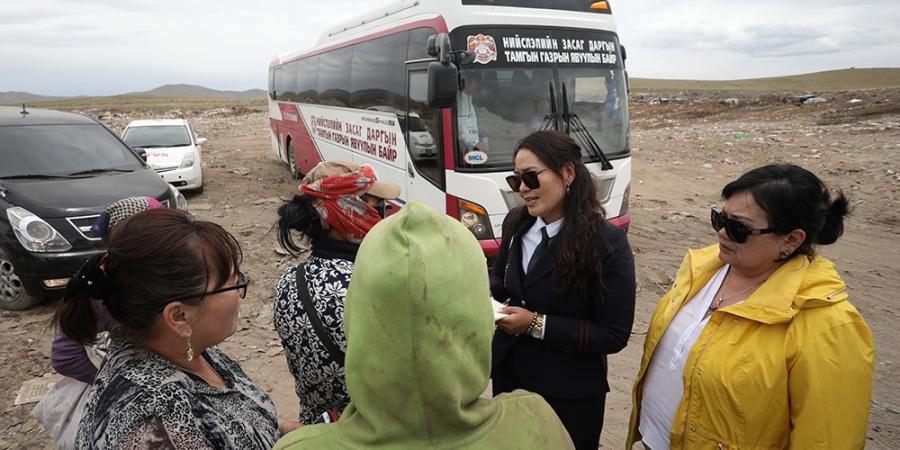 Нийслэлийн Засаг даргын явуулын оффис Сонгинохайрхан дүүрэгт ажиллав