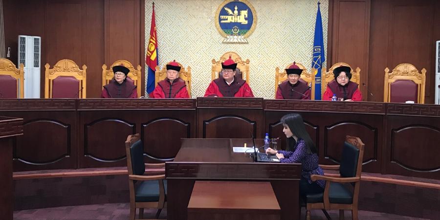 Үндсэн хуулийн цэц маргааныг хэрэгсэхгүй болгов