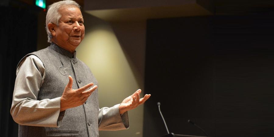 Нобелийн шагналт Мухаммад Юнус: Бичил зээл асуудлаа шийдвэрлэхэд тусалдаг байх ёстой