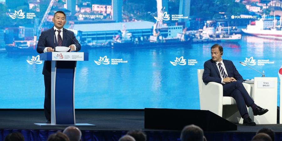 Ерөнхийлөгч Х.Баттулга Дорнын эдийн засгийн чуулганы өргөтгөсөн хуралдаанд оролцож үг хэллээ