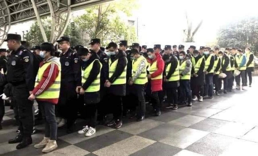 Албадан гаргасан хятад иргэдийг Нанжин хотод хорихоор болжээ
