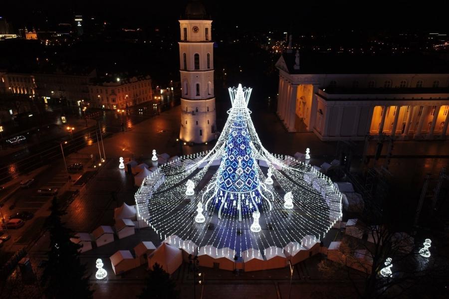 Хамгийн үзэсгэлэнтэй гацуур - Литва улсын ''Цэнхэр гүнж''