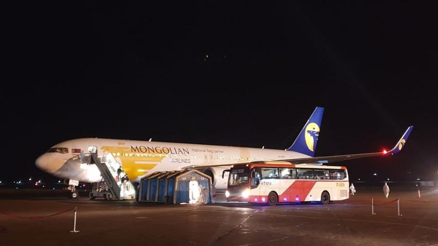 Сөүл-Улаанбаатар чиглэлийн тусгай үүргийн онгоцоор 266 иргэн ирлээ