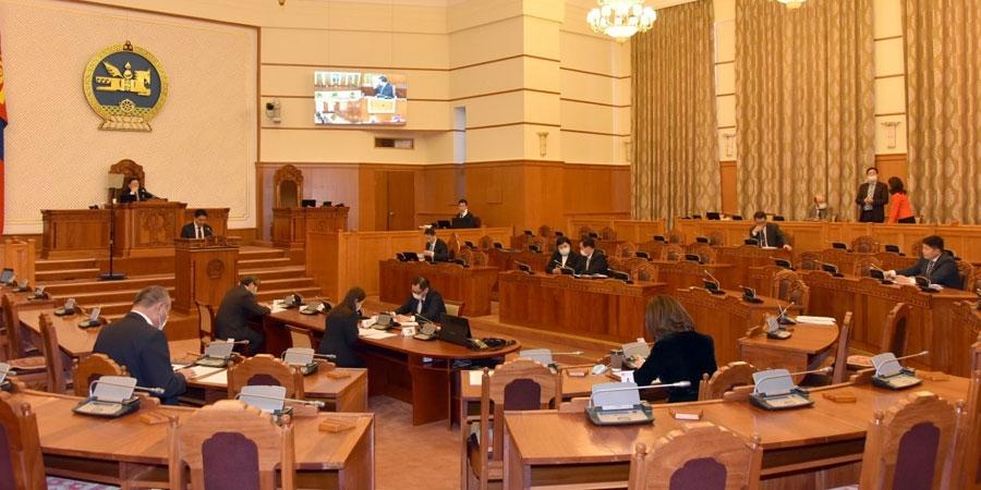 Улсын Их Хурлын 2020 оны хаврын ээлжит чуулганыг завсарлуулав