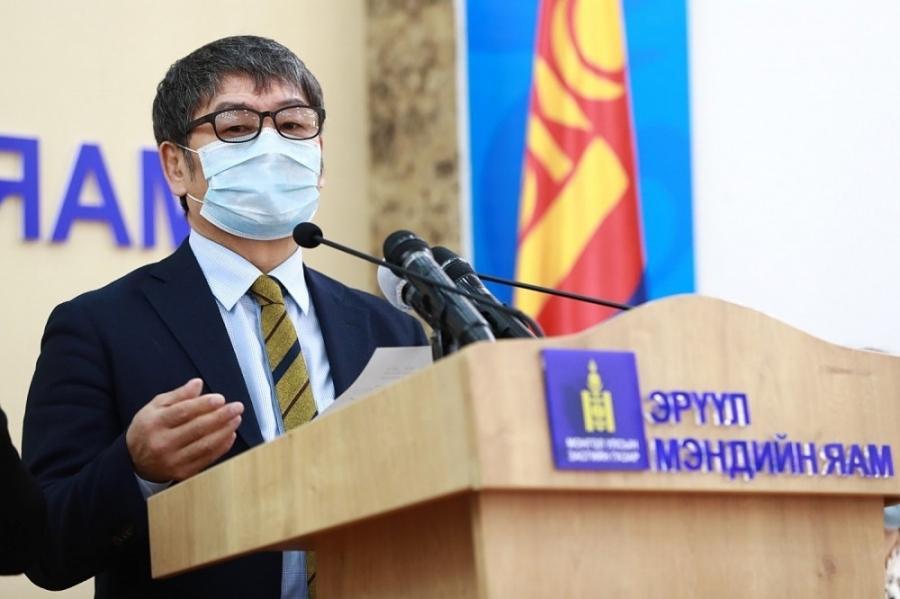 Д.Нямхүү: Өнөөдөр өвчлөл нэмэгдсэнгүй, 66 хүн эмчилгээнд байна