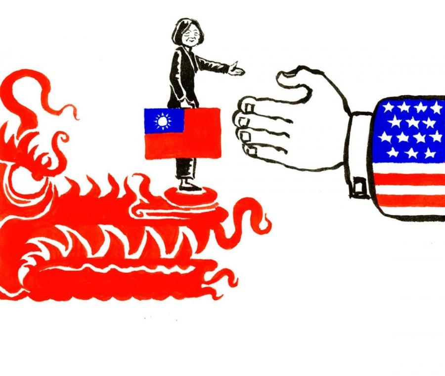 АНУ, Тайванийн харилцаа БНХАУ-ын дургүйг хүргэж байна