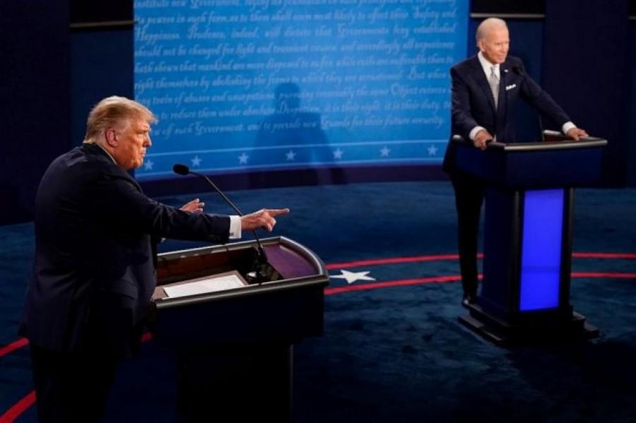 Мэтгэлцээн-2020: АНУ-ын иргэдийн 53 хувь нь Жо Байденыг ялсан гэв