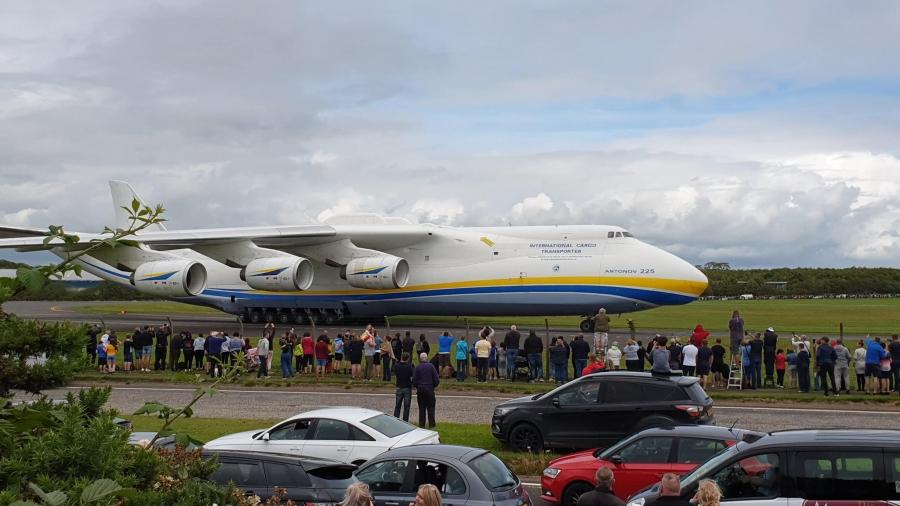 Дэлхийд цорын ганц байдаг онгоц ''Антонов 225''