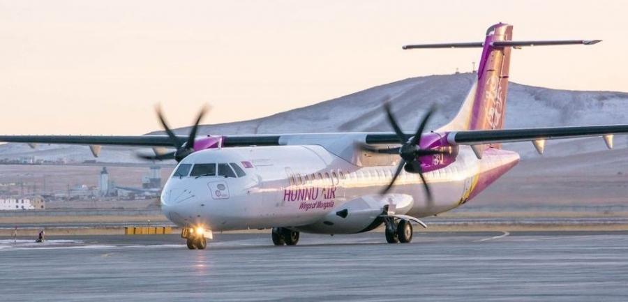 Ховд-Улаанбаатар чиглэлийн тусгай үүргийн онгоц 12:30 цагт газардана