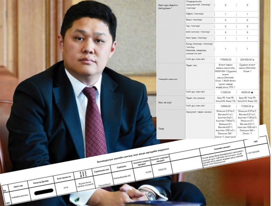 Г.Дөлгөөн Төв банкны Тэргүүн дэд ерөнхийлөгчийн ажил хийж 32 мянган долларын зээлээ төлж байна