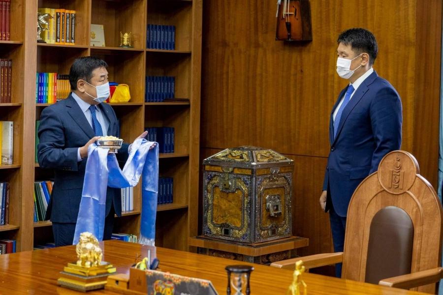 УИХ дахь АН-ын бүлэг Монгол Улсын Ерөнхийлөгчийг дэмжиж, хамтарч ажиллахаа илэрхийллээ
