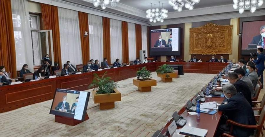 Гамшгийн эрсдлийг бууруулах үндэсний зөвлөлийн ээлжит хуралдаан болж байна
