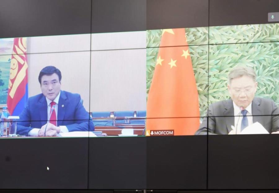 Монгол, Хятадын загийн газар хоорондын комиссын дарга нарын уулзалт боллоо