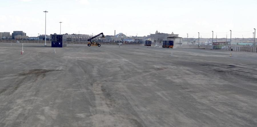 Гашуунсухайтын хилийн боомтод чингэлэгт тээврийн терминал ашиглалтад орлоо