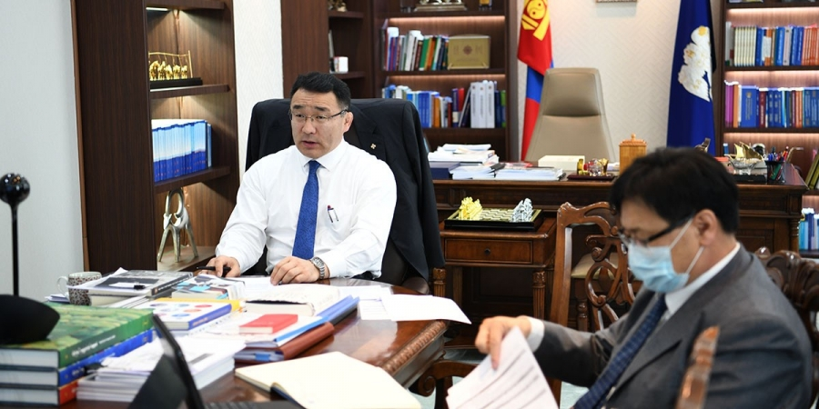 Монгол дахь Америкийн Худалдааны танхимын гишүүдтэй цахимаар уулзлаа