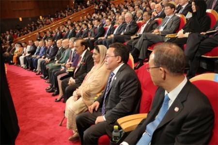 Азийн итгэлцлийг бэхжүүлэх чуулган эхэллээ
