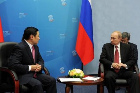 Ерөнхий сайд ОХУ-ын Ерөнхийлөгч В.В.Путинтэй уулзлаа