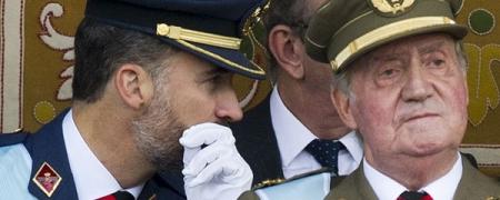 Испанийн эзэн хаан сэнтийгээсээ бууна гэв