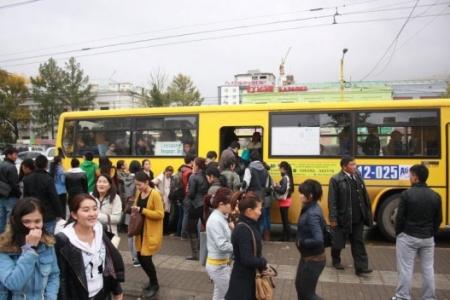 Зуслангийн долоон чиглэлд автобус  600 төгрөгөөр үйлчилнэ