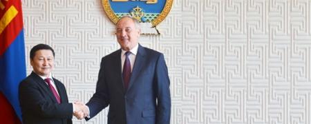 Бүгд Найрамдах Латви Улсын Ерөнхийлөгчид бараалхав