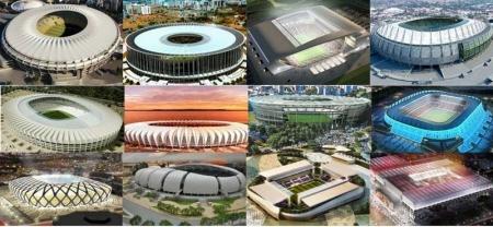 FIFA WORLD CUP 2014-ын цэнгэлдэхүүд