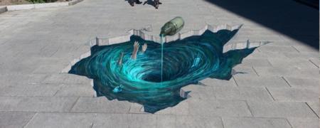 Нийслэлийн гудамжийг 3D зургаар гоёлоо
