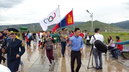 Олимпийн өдрийн ёслол боллоо