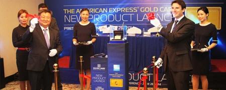 Голомт банк AMERICAN EXPRESS®GOLD CARD-ыг Монгол Улсад анх удаа нэвтрүүллээ