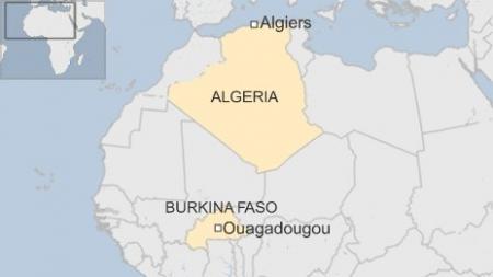 Алжирын онгоц холбоо тасарчээ