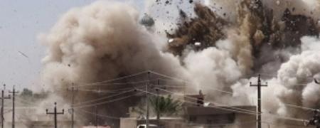 АНУ Ирак Левантын бүлэглэлд агаараас цохилт өглөө