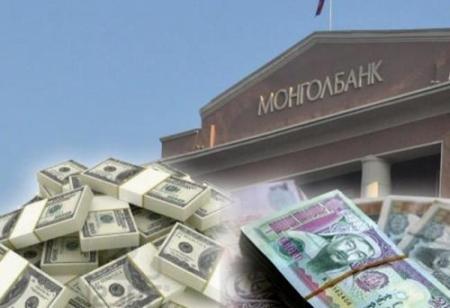 Монголбанк  38.5 сая ам.доллар худалдав