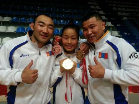 Олимп, дэлхийн медальтнууд өнөөдөр барилдана