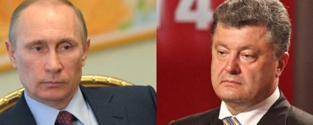 П.Порошенко, В.Путин нар Украины асуудлыг хэлэлцлээ