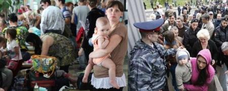Украины зүүн хэсгээс сая иргэн дүрвэсэн гэв