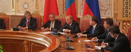 В.В.Путин: шинээр төмөр зам тавих талаар хамтын ажиллагаа зохион байгуулах тухай бодолцож болно