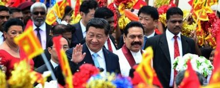Си Зиньпин торгоны замын асуудлаар Шри Ланка улсын ерөнхийлөгчтэй ярилцлаа