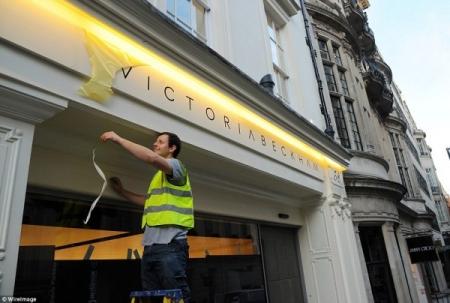 Викториа Бекхем өөрийн нэрийн дэлгүүрээ нээжээ