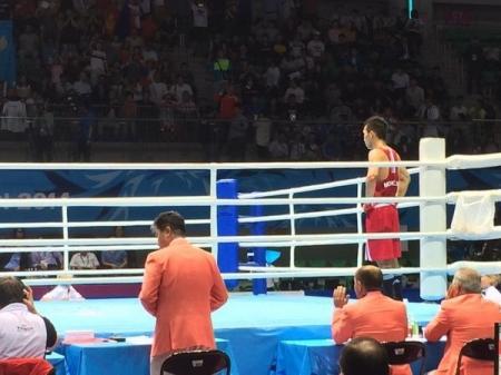 Н.Төгсцогтыг ялсан Солонгосын тамирчин алтан медаль хүртлээ