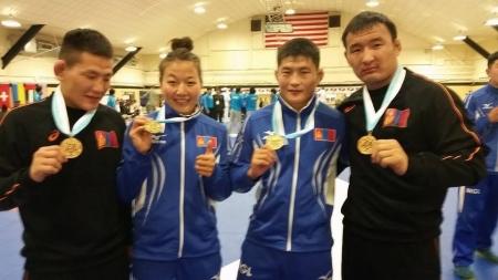 Цэргийн ДАШТ-ээс  дөрвөн алтан медаль хүртээд байна