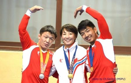 Азийн наадмын аваргууд Астанагийн Гран-приг өнжинө