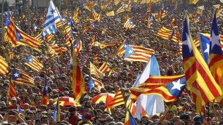 Каталончуудын  санал асуулга цуцлагджээ