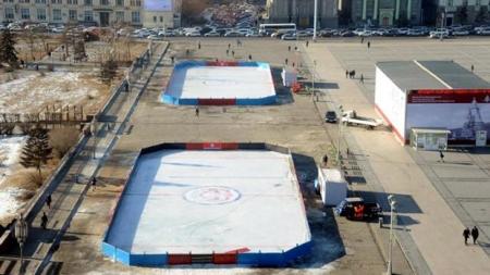 Чингисийн талбайн мөсөн гулгуурыг Хоккейн холбооныхон хариуцан ажиллана