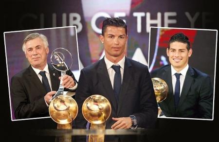 """К.Роналдо """"Globe Soccer Awards""""-ийн оны шилдэг тоглогч боллоо"""