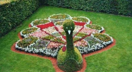 Цэцгэн баримал