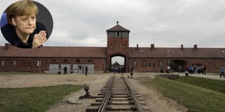 Ангела Меркель Освенцимд хоригдож байсан хүмүүстэй уулзав