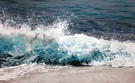 Zaria Forman-ий бүтээл /Хуруугаар зурсан зураг/