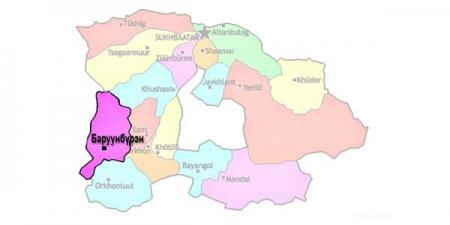 Сэлэнгэ аймгийн Баруунбүрэн суманд 30 хоногийн хөл хорио тогтоов