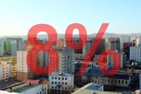 47500 өрх ипотекийн зээлээр байртай болжээ