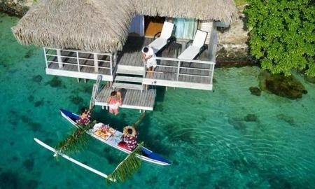 Францын хамгийн сайхан амралтын газар Полинез