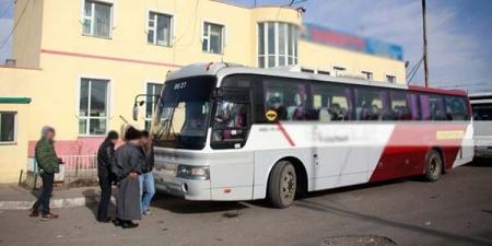 Чит-Хиагт-Улаанбаатар чиглэлд автобус явна